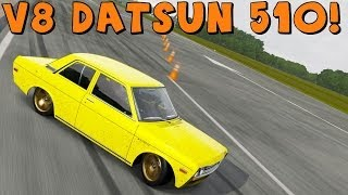 Forza Motorsport 5   Datsun 510 LS1 V8 Twin Turbo Drift Build + why I'm loving Forza 5!