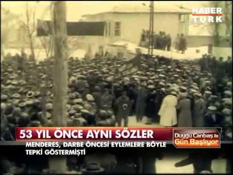 Menderes'in yarım asır önce yaptığı tarihi konuşma