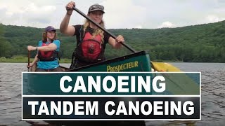 How to Paddle a Tandem Canoe | Tandem Canoeing Essentials