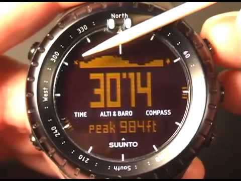 Suunto Core Review, New Band and Log Function Video