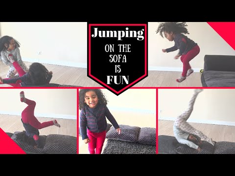 SPRING BREAK FUN - Home Gymnastics - Happy Memories - Gymnastics Practice - Black &Indian kids