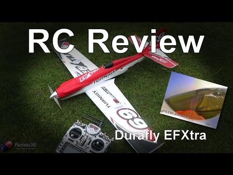 RC Reviews: Durafy EFXtra Acrobatic FPV Plane
