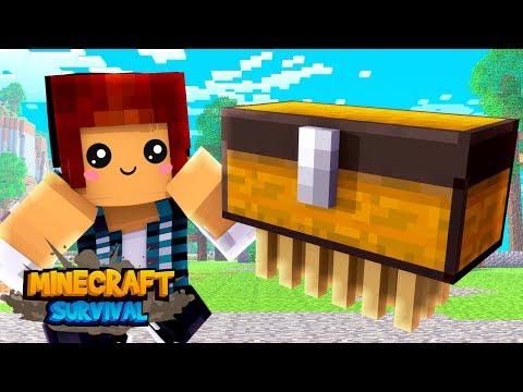 Minecraft Survival #15 - O ITEM MAIS FOFO DO MINECRAFT !!
