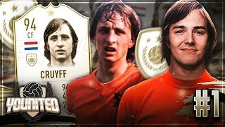FIFA 19: YOUnited ICON CRUYFF 94 #1 TRAUMSTART 😍