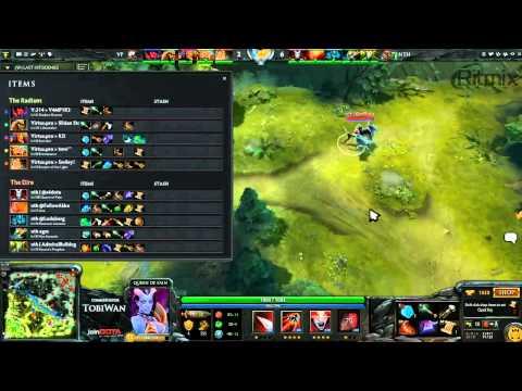 Virtus Pro vs No Tidehunter Game 2 - Russian DOTA2 League - TobiWan