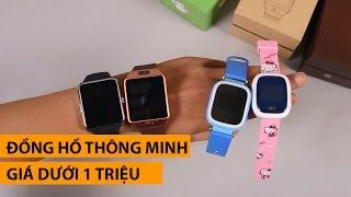Tổng hợp những đồng hồ thông minh giá dưới 1 triệu đồng đáng mua