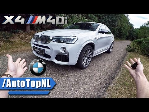 BMW X4 2017 M40i REVIEW POV Test Drive by AutoTopNL