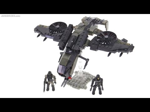 Mega Bloks Call of Duty Black Ops 3 Wraith Attack set review
