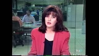 TVE1 Avance Telediario 2 08/06/1994 Georgina Cisquella