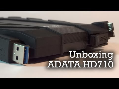 ADATA DURABLE HD710   Unboxing
