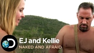 EJ And Kellie Catch Catfish | Naked and Afraid