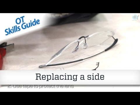OT skills guide: Frame repair – replacing a side