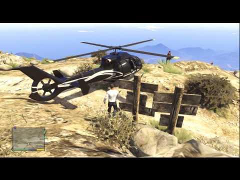 GTA V (GTA 5): SkyDiving & More Chiliad Gameplay (Xbox 360)
