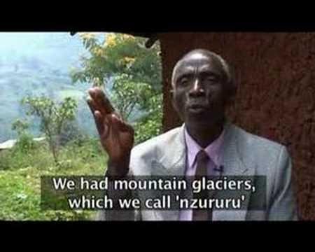 Climate change impact in Rwenzori Mountains, Uganda