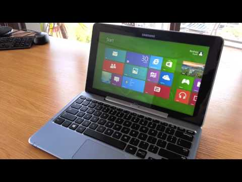 Samsung ATIV Smart PC - Turning On/Boot Up
