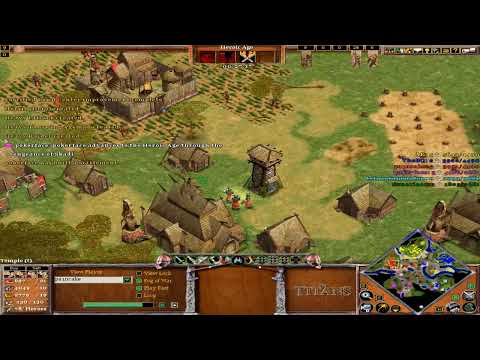 Age of mythology the titans:3vs3 online-loki