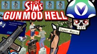 [Vinesauce] Joel - Sims 1: Gun Mod Hell