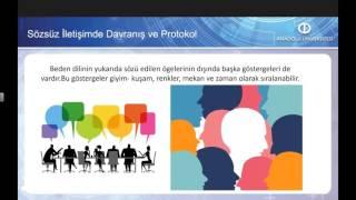 İŞ ORTAMINDA PROTOKOL VE DAVRANIŞ KURALLARI - Ünite5 Özet