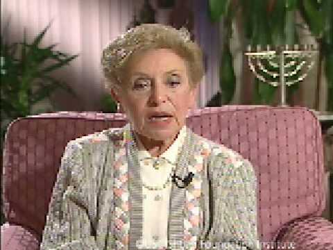 Holocaust Survivor Esther Clifford Testimony