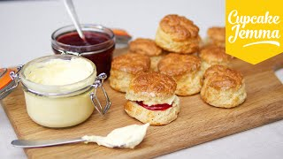 How to make perfect English Scones | Cupcake Jemma