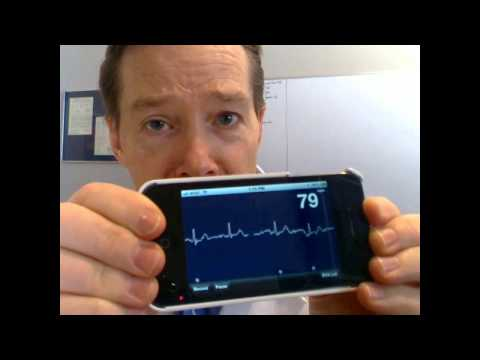 AliveCor - How It All Started - The Original Dr. Dave iPhone ECG Video