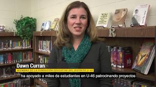 U-46 Educational Foundation Mini-Grant Surprise - Spanish Subtitles