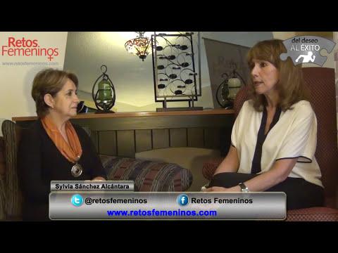 Fundadora de Retos Femeninos, Sylvia Sánchez Alcántara en Compartiendo Éxitos