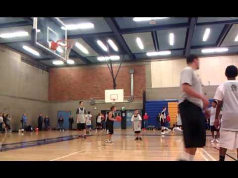 Portland Trail Blazers guard Wesley Matthews dunk contest vs. Lamar Hurd