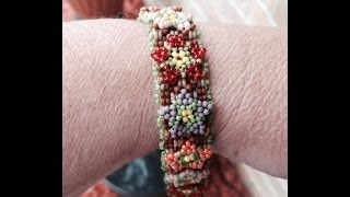 (Tutorial) Garden Of Love Bracelet PART 3 (Video 46)