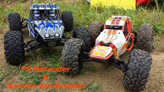 RC DownHill Buggy VS Rock Racer