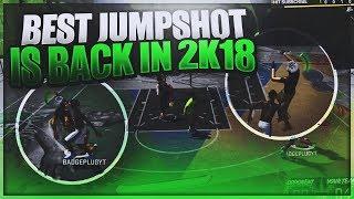 My Favorite Best Jumpshot Is Back In NBA 2K18!