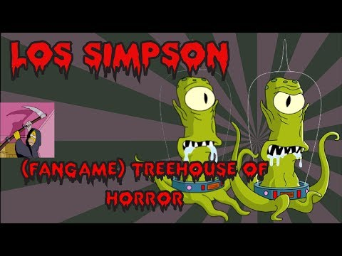 Download video Los Simpson: (Fangame) Treehouse of Horror - Review