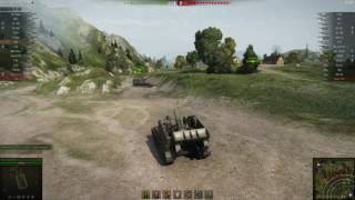 T92. Две арты против Bat.-Châtillon 25 t.