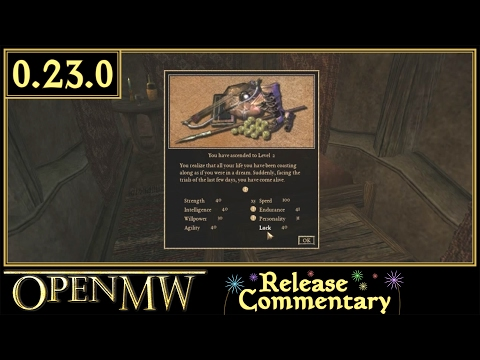 OpenMW v0.23.0 Update - Morrowind Engine Reimplementation
