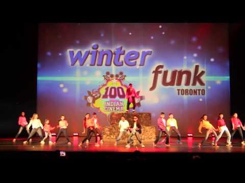 Shiamak WinterFunk Toronto 2013: Showkids:Tattad Tattad