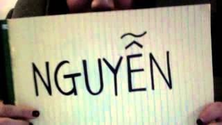 How to say Nguyen