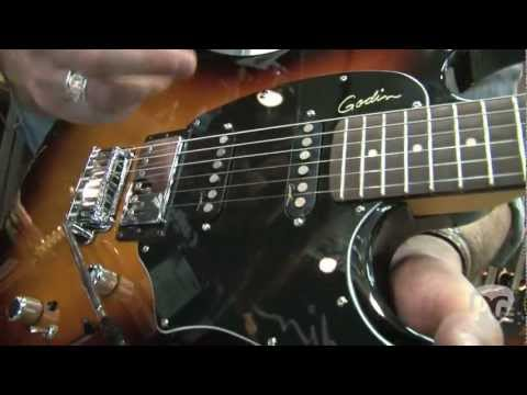 NAMM '12 Godin  Session Plus, Session Custom, Left Handed Session, Shifter Classic Bass