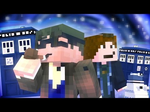 Minecraft RolePlay : Doctor Who Episode 1 (CRASH LANDING!)