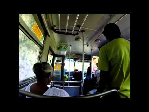 Traveling By Bus In Sri Lanka video