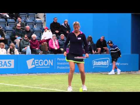 Match Highlights: Heather Watson beats Melinda Czink