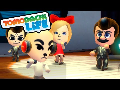 Tomodachi Life: K.K. Slider Song, Slenderman Dream Gameplay Walkthrough PART 10