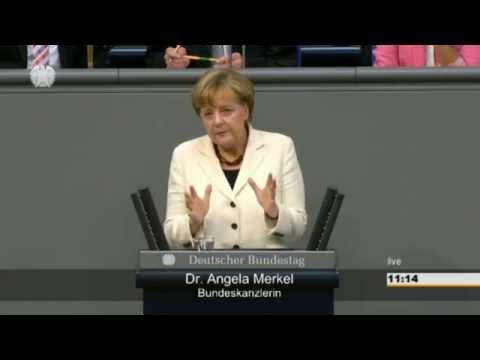 Rede Angela Merkel zur Digitalisierung in der Haushaltsdebatte am 10.09.2014