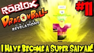 I HAVE BECOME A SUPER SAIYAN! | Roblox: Dragon Ball Online Revelation - Episode 11