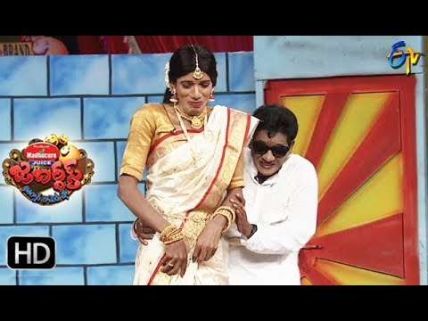 Raijing Raju Performance | Jabardasth| 19th October 2017| ETV  Telugu