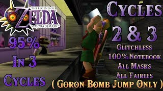 Zelda: Majora's Mask | Glitchless 3 Cycles | Cycles 2 & 3