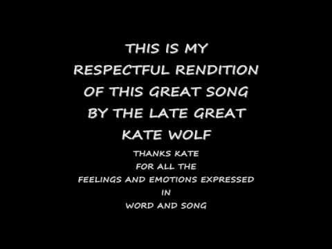 Kate Wolf - Crying Shame