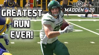Strongest Run Ever by Power Up Christian Mccaffrey! Madden 20 MUT Squads