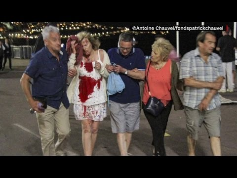 Iconic photo captures horror in Nice