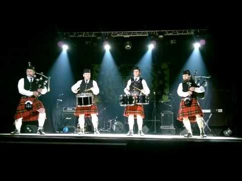 звездные войны на волынке, барабанный салют, современная музыка Шотландии