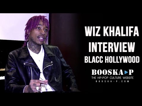 Wiz Khalifa : «I see myself as a pioneer !» [Interview]